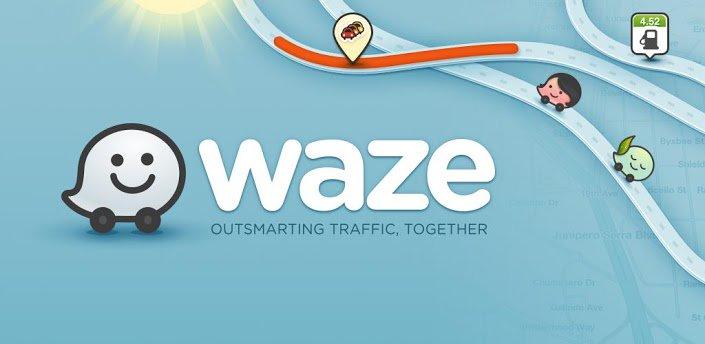 مسیریاب نقشه waze